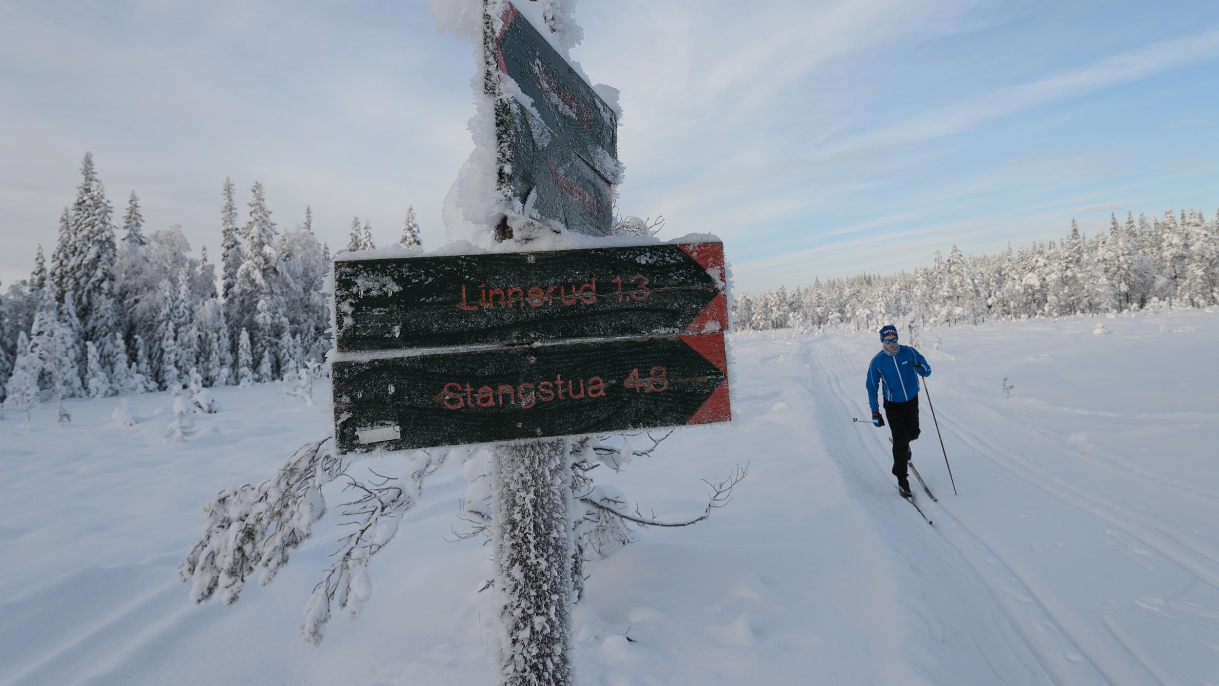 Flotte skiløyper i Land