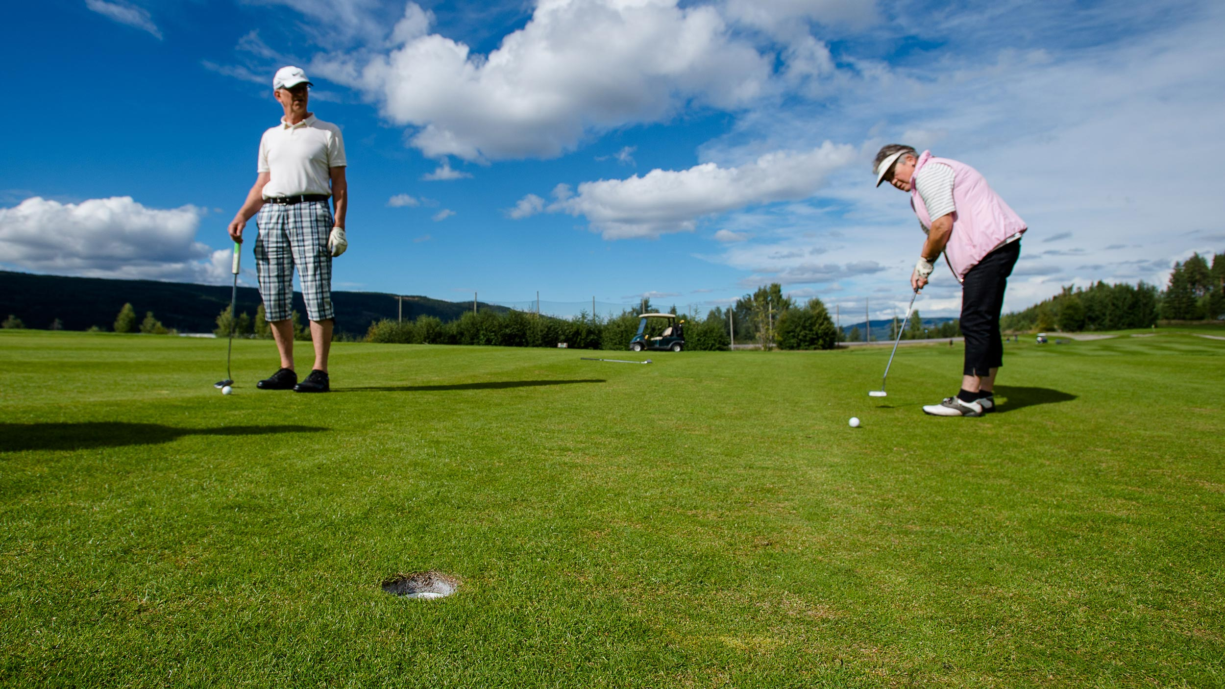 Golf, Søndre Land