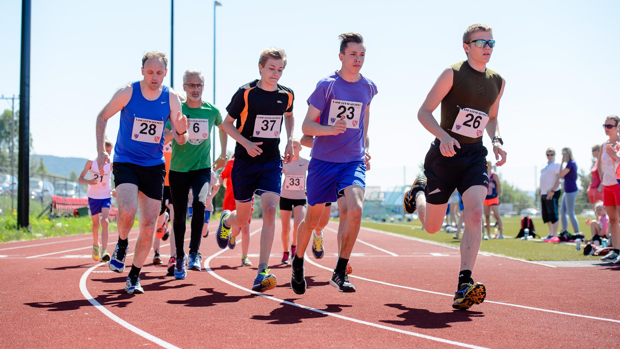 Land Løpskarusell, idrettsplassen i Hov, Søndre Land