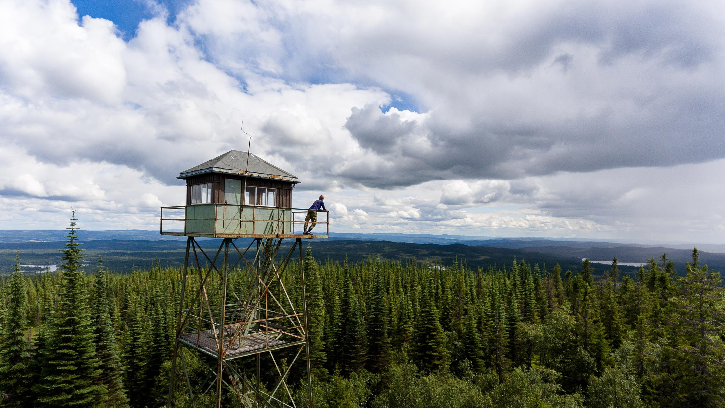Branntårnet på Skjellingshovde, Søndre Land