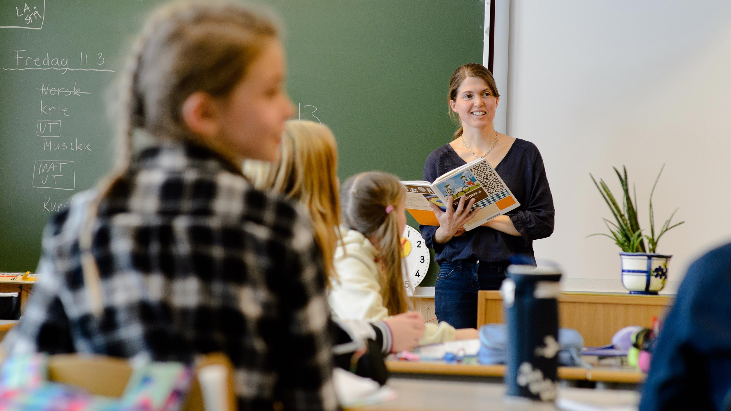 Skoletime, Søndre Land