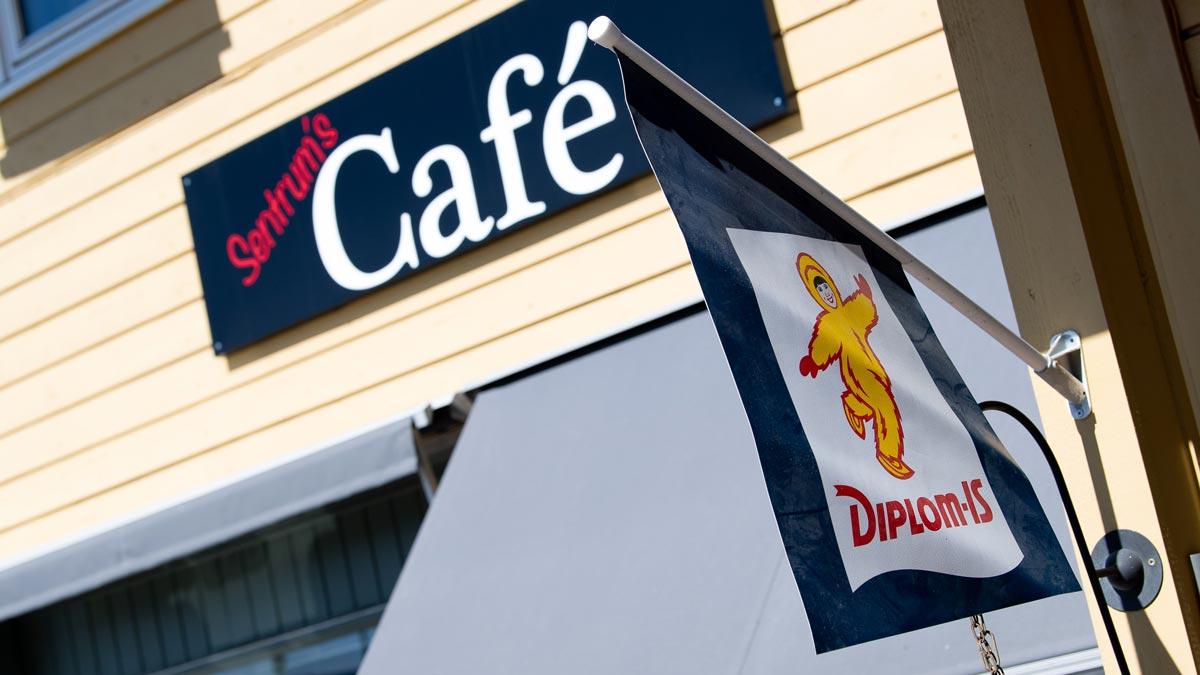 Kafe i sentrum