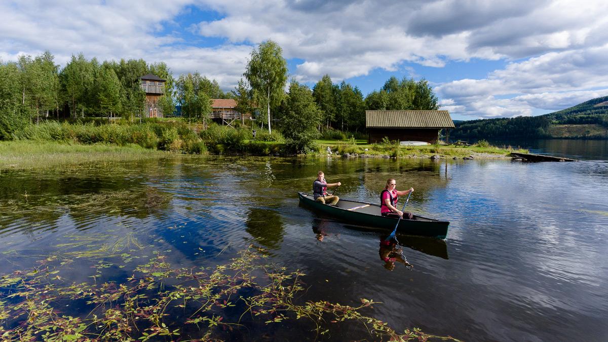 Kano i Dokkadeltaet, Søndre Land
