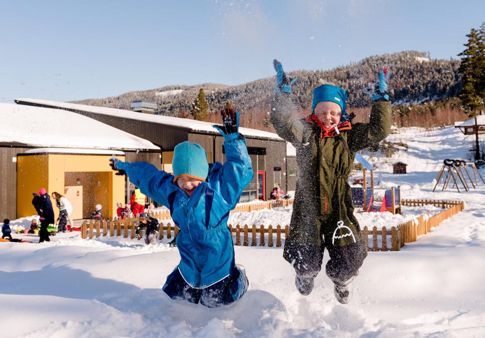 Lek i barnehage, Søndre Land