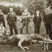 Jaktlaget på Rud, 1897