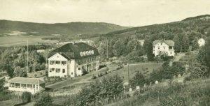Hov sykehus. Bilde fra ca 1930.