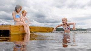 Kaldt i vannet...