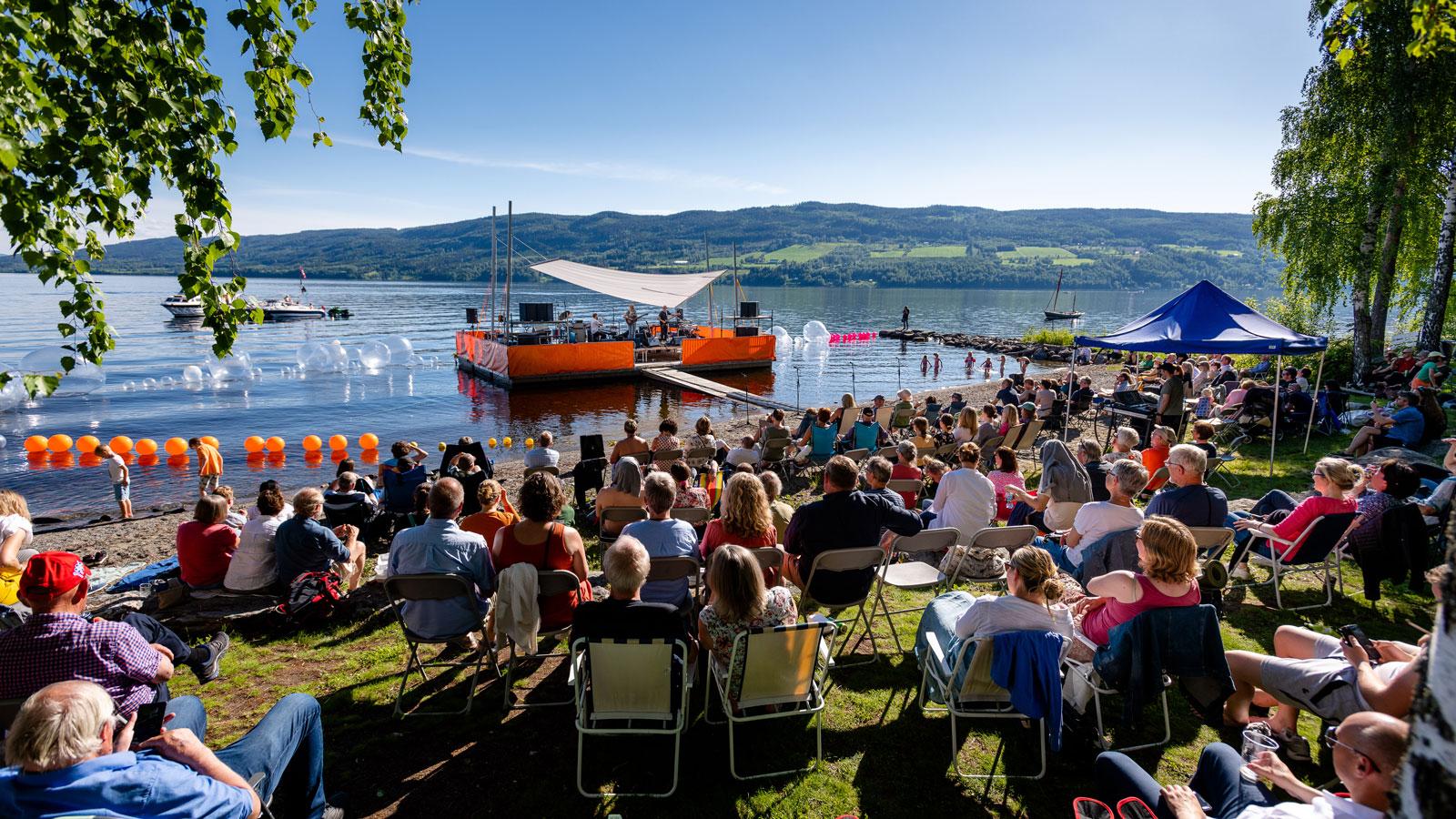 Konsert på Randsfjorden, Søndre Land kommune