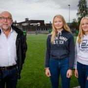 Knut Solhaug, Kaia Raa Jäger og Tilla Engebakken, Søndre Land