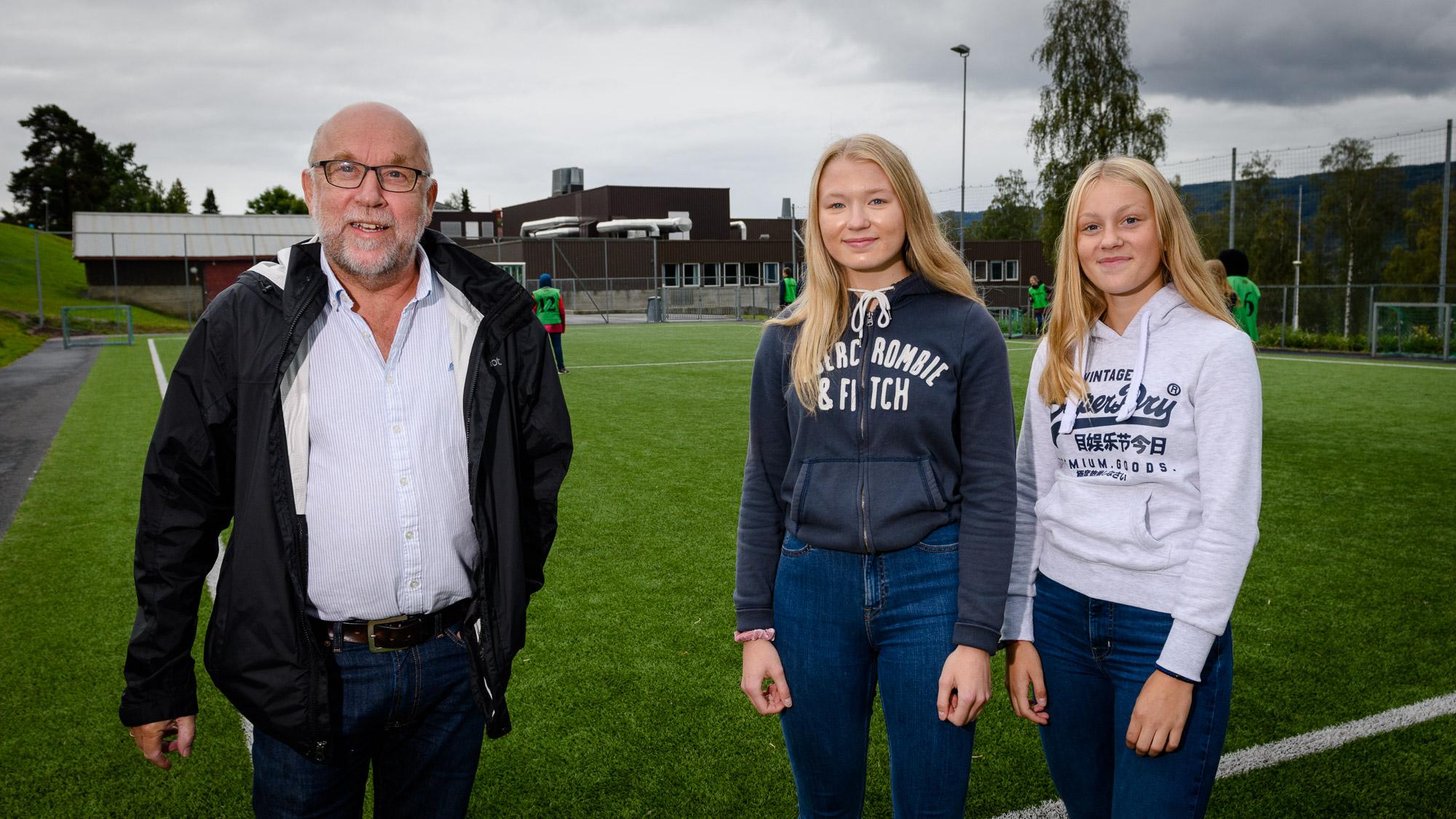 Knut Solhaug, Kaia Raa Jäger og Tilla Engebakken