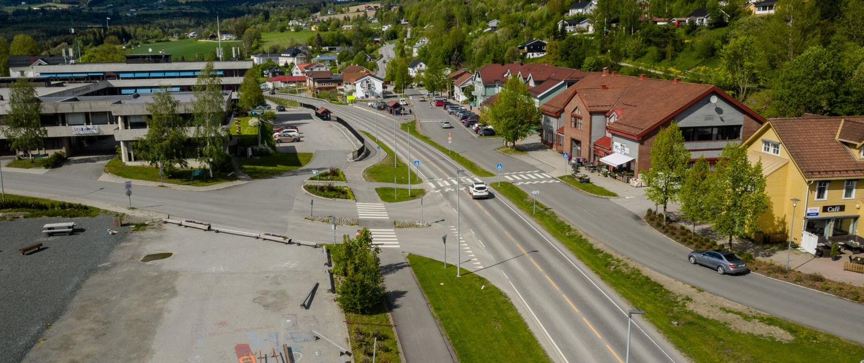 Hov sentrum, Søndre Land kommune