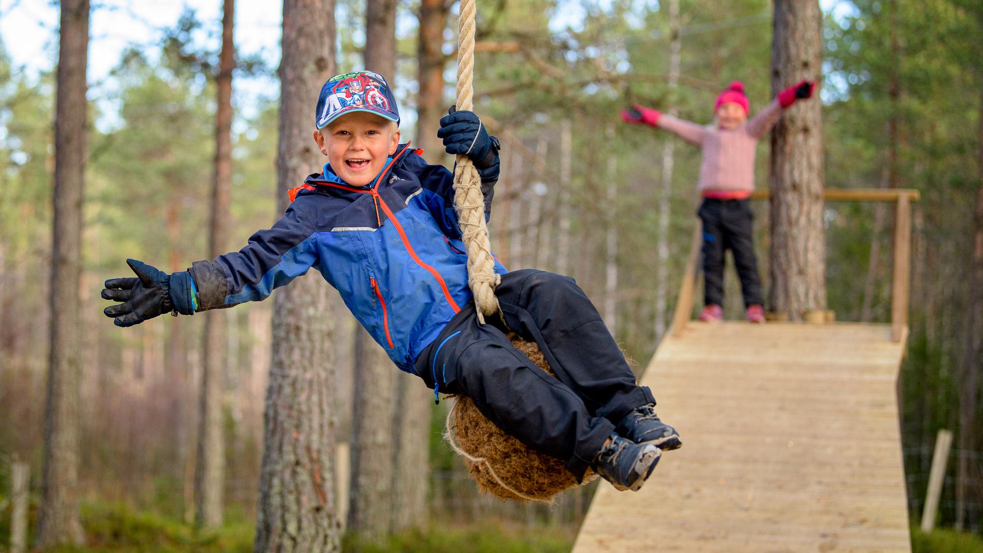 Klatreparken ved Trevatna, Søndre Land