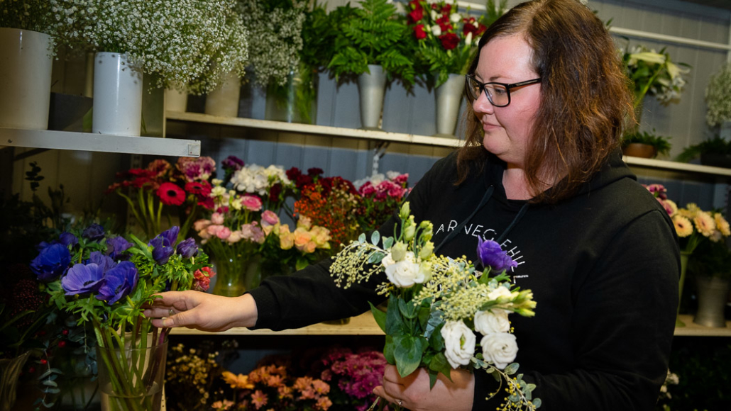 Hov Blomster, Søndre Land