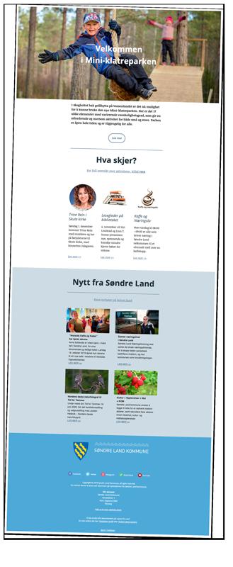 Nyhetsbrev fra Søndre Land