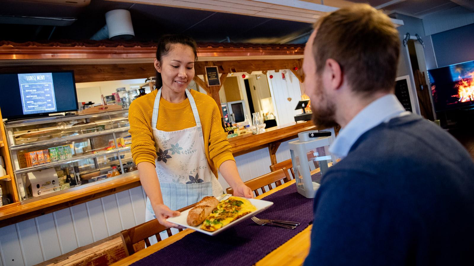 Cafe, Søndre Land