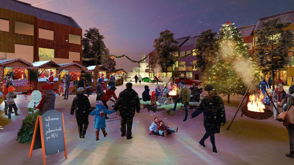 Livsnerven Norconsult, Hov sentrum, Søndre Land kommune