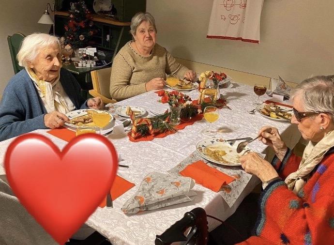 Julaften på Hovli