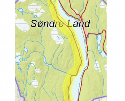Vestsida Sør, Søndre Land