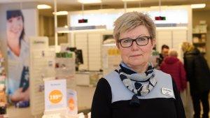 Farmasøyt og daglig leder Eli Helen Hagen.