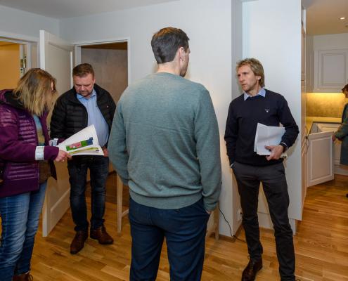 Stor interesse for leiligheter i Hov, Søndre Land
