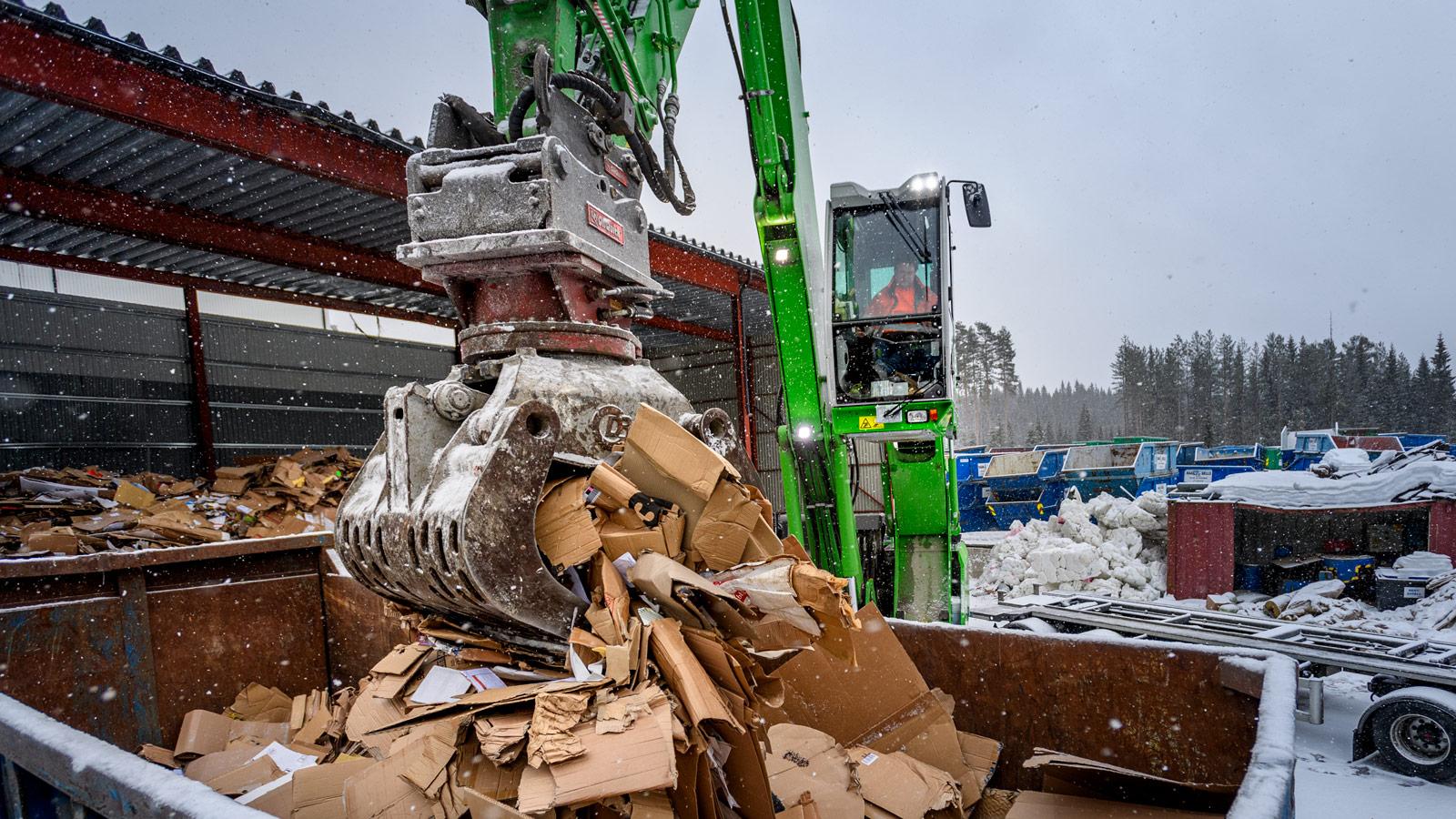 SLR AS, der avfall gjenvinnes til nye ressurser