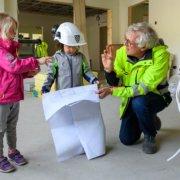 Inspeksjon av ny barnehage