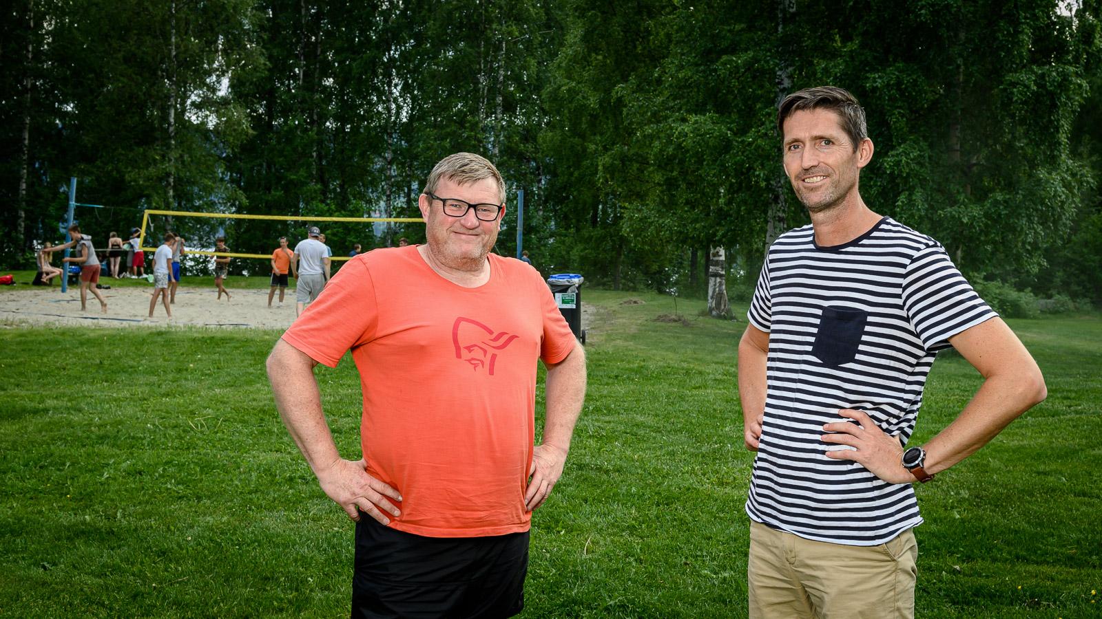 Lars Bjørnsveen og Roger Vestrum