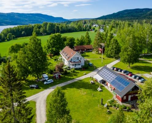 Grønn profil på Lyngstrand Camping