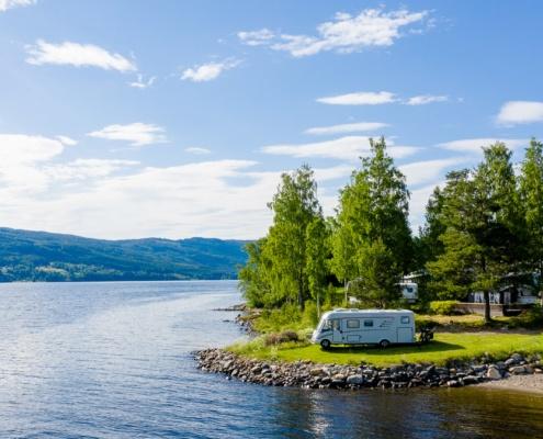Idyll ved Randsfjorden
