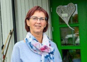 Daglig leder for Søndre Land Frivilligsentral, Marit Hultmann.