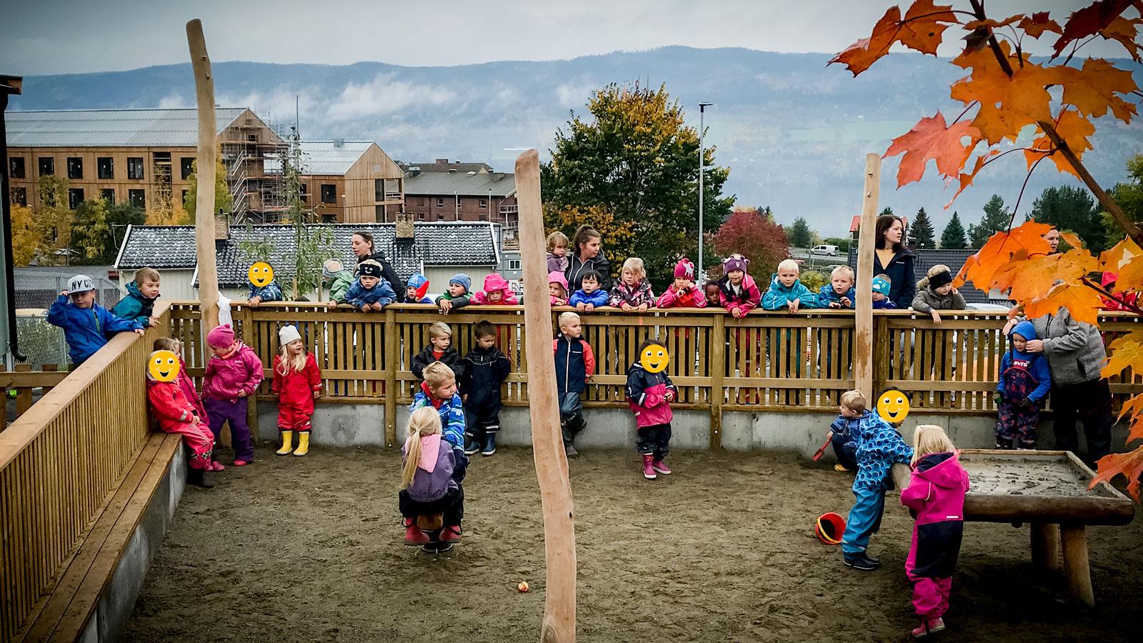 Åpning av Hov Barnehage, Søndre Land