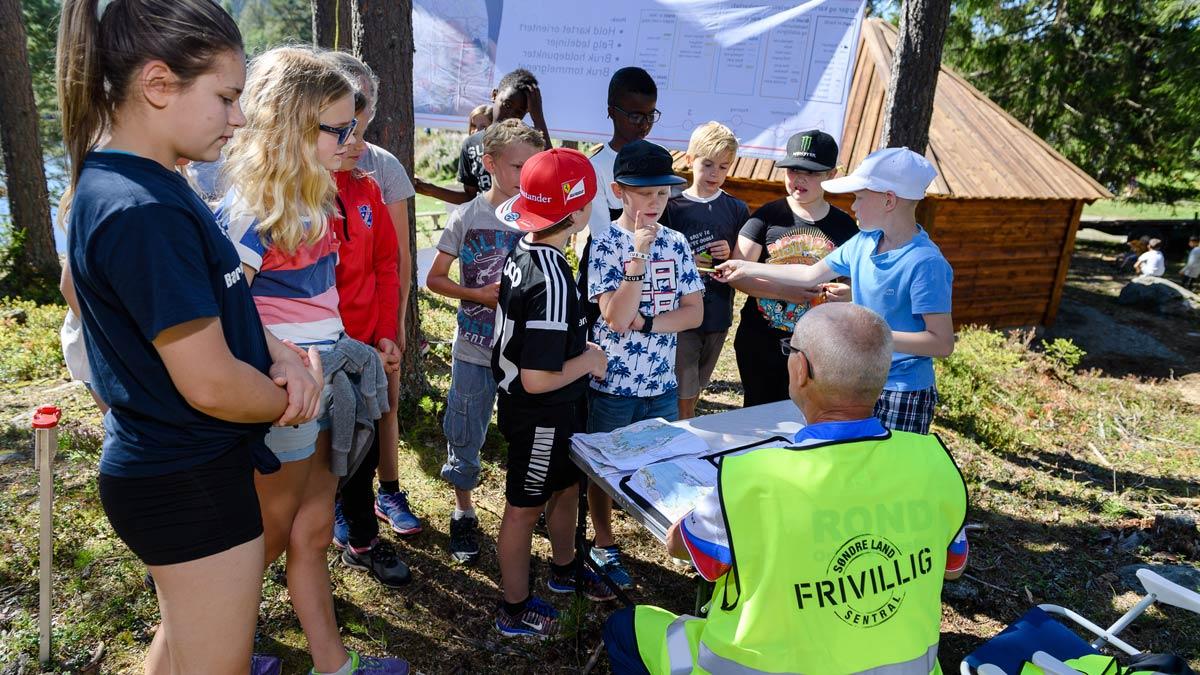 Aktivitetsdager på Vassendlandet er blant de populære tilbudene. Her har det vært med nesten 90 unger og nær 30 til på venteliste.