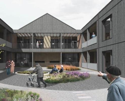 Hovlitunet bygges for å møte behovet for pleieplasser som vil komme i årene fremover