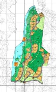 Grevsjølia hyttefelt - Kart