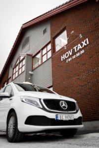 Den nye Mercedes EQV til Hov Taxi