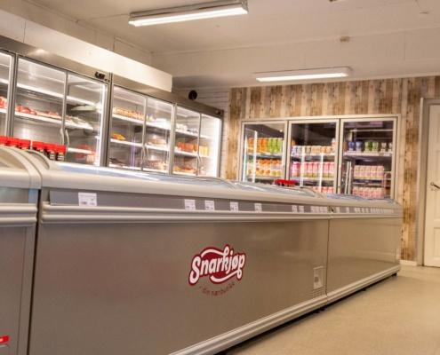 Landhandelen fikk litt finansiell hjelp gjennom Merkur-programmet til innkjøp av fryse- og kjøledisker