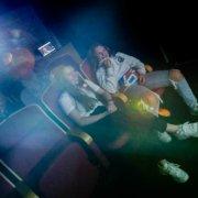 Kinorom: Ungdommens hus har eget kinorom med Netflix og bean bags. Her samles venner til filmkveld på storskjerm
